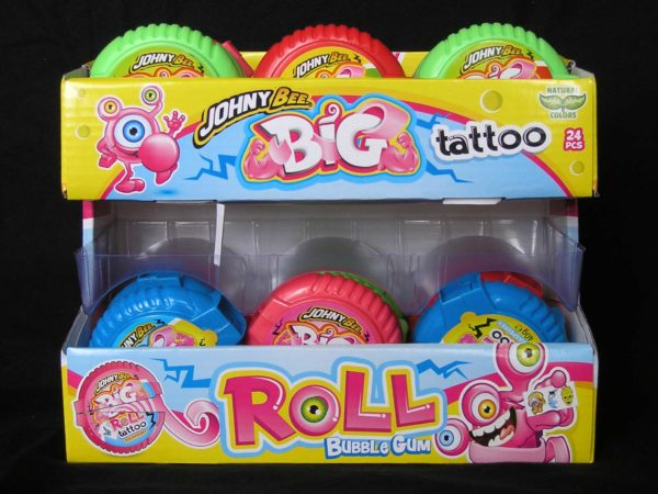 Johny Bee Bubble Gum Tattoo