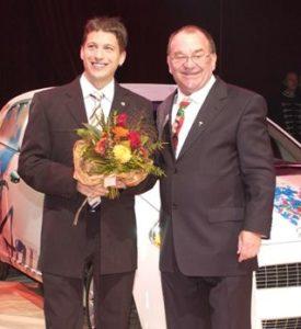 Peter Hutter mit Ernst Heller